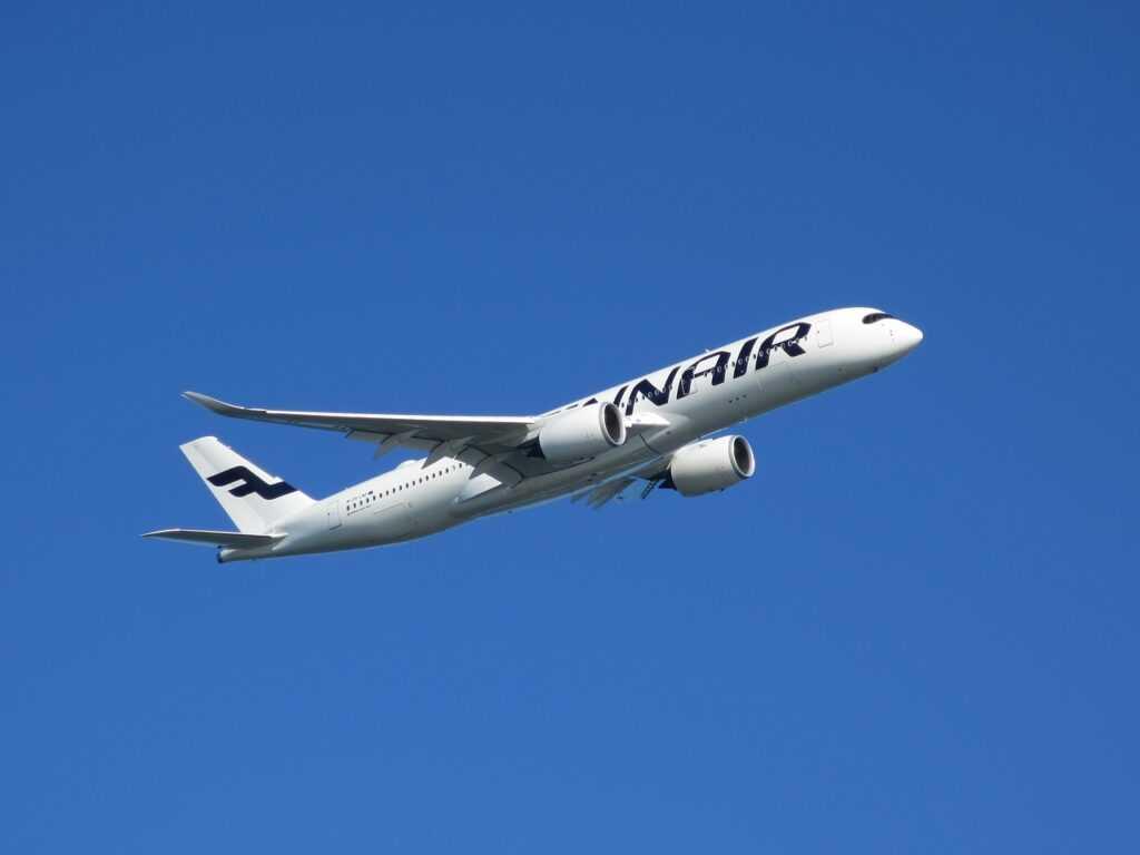 Finnair lentokone