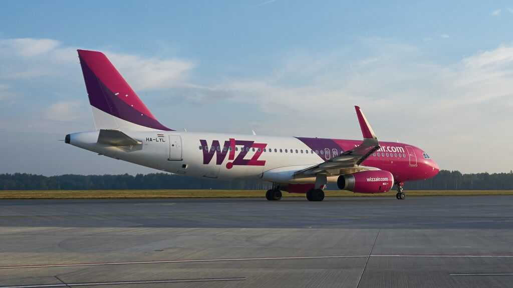 Wizz Air lentokone